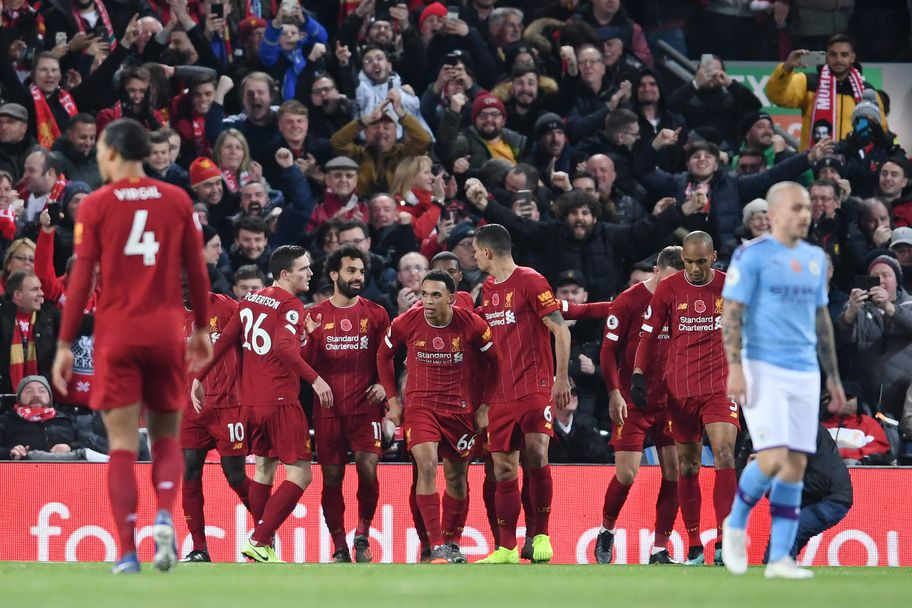 Ливърпул - Манчестър Сити 3:1