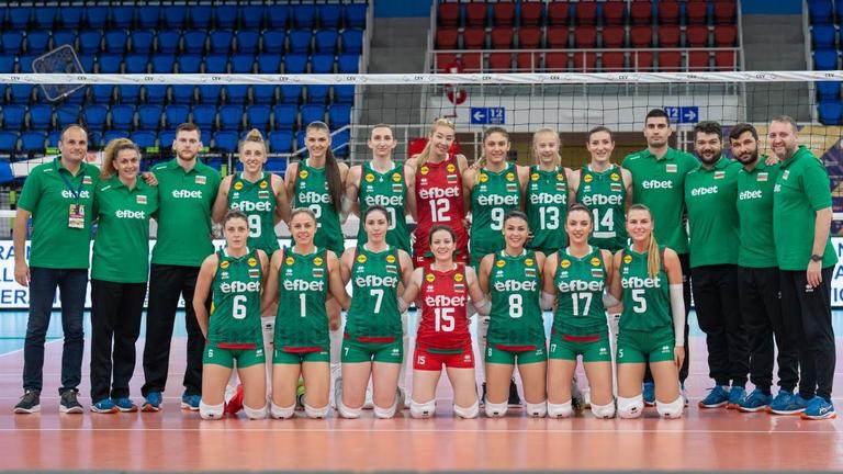 Ето къде ще дават двубоите на България в Златната европейска лига 🏐🇧🇬